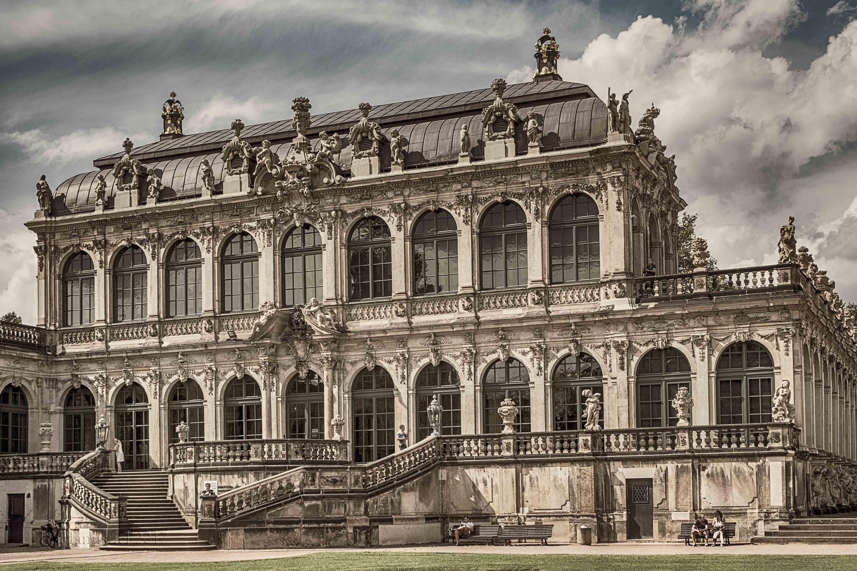 Dresden Zwinger Mathematisch-Physikalischer Salon